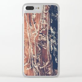 Alien Interface Clear iPhone Case