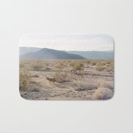 Panamint Valley Coyotes Bath Mat