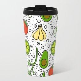 Guacamole Pattern Travel Mug