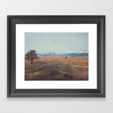 Former Tempelhofer Airport, Berlin Framed Art Print