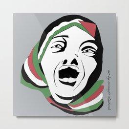 Mother of Palestine Metal Print