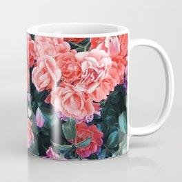 Psychedelic summer florals Coffee Mug