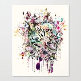 Interpretation of a dream - Tiger Canvas Print