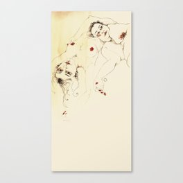 desnudas Canvas Print