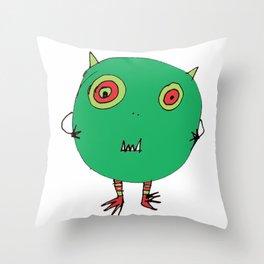 Little Monster2 Throw Pillow
