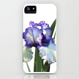 Iris 'Freedom Song' on white iPhone Case