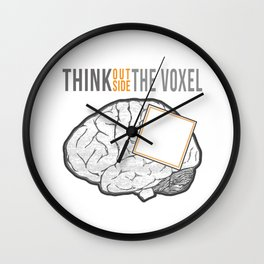 Think Outside the Voxel Wall Clock