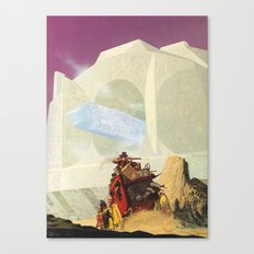 The Wild West Guide To The Galaxy #219 Canvas Print