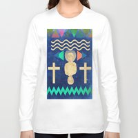 hercules Long Sleeve T-shirts featuring HERCULES by Diego Ascoli