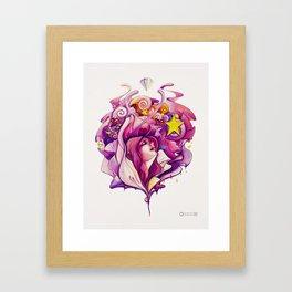 Pink Fairy Framed Art Print