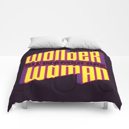 Wonderful Woman Comforters