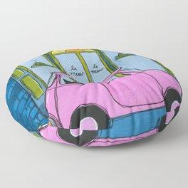 Le Mew Cat Cafe Floor Pillow