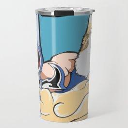 Thunder, HALP! Travel Mug