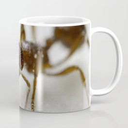 Extreme Macro Ant on a Clematis petal Coffee Mug