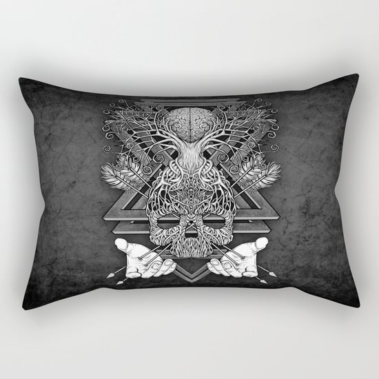 Winya No. 57 Rectangular Pillow