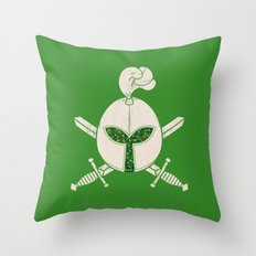 Plant Protector Throw Pillow