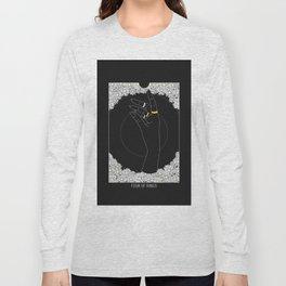 Four of Rings - Tarot Illustration Long Sleeve T-shirt