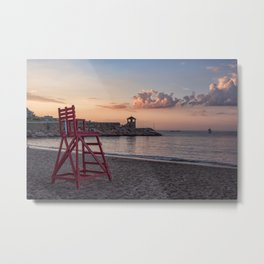 Front Beach After Hours Metal Print