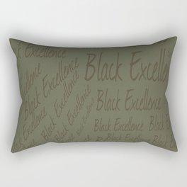 Black Excellence GRN Rectangular Pillow