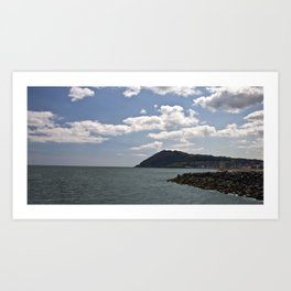 Bray Head Art Print