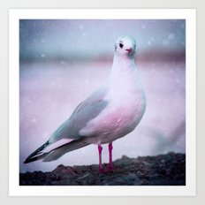 SONGS OF A BIRD I Art Print