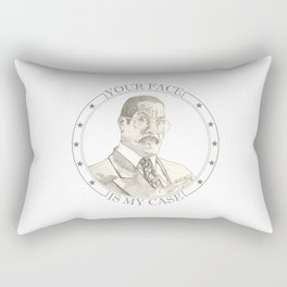 Jackie Chiles - Attorney at Law Rectangular Pillow
