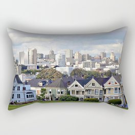 Old and New Rectangular Pillow