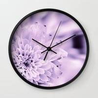 romantic Wall Clocks featuring Romantic by Enri-Art