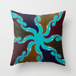 Points Of Return, No. 1 Throw Pillow