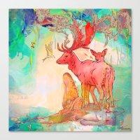 archan nair Canvas Prints featuring Rebirth by Archan Nair