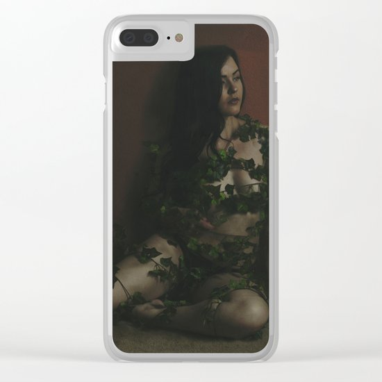 SWEET BLOOM Clear iPhone Case