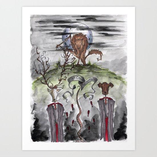 Mauraders Art Print