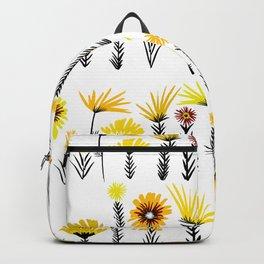 Sunny Days Ahead / floral art Backpack