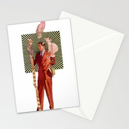 Bird Man Stationery Cards