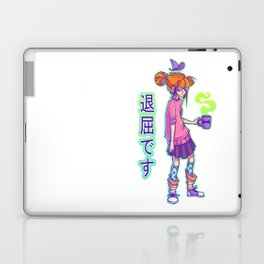 Bored witch Laptop & iPad Skin