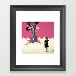 Hello Ruby Framed Art Print