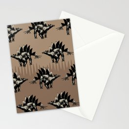 ChocoPaleo: Stegosaurus Stationery Cards