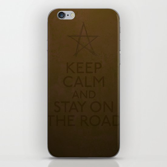 Stay on the road iPhone & iPod Skin