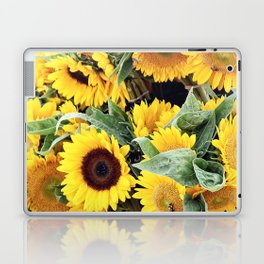 Happy Sunflowers Laptop & iPad Skin