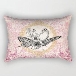 Vintage Fairy Queen Rectangular Pillow
