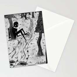 Lurking in The Woods Stationery Cards