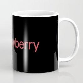 Ice Cream Flavors: Strawberry Coffee Mug