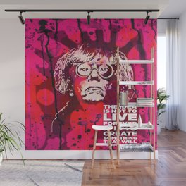 Pop-Art KING - Quote Wall Mural