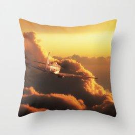 Impregnable Throw Pillow