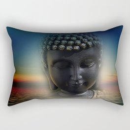 silence in your mind -4- Rectangular Pillow