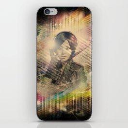 Girl : Music = Color : Light - VINTAGE iPhone Skin