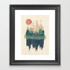 Hinterland Framed Art Print
