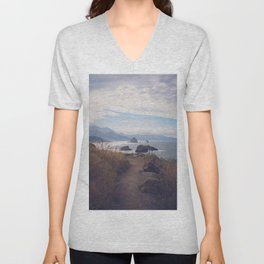 Path to Cannon Beach Unisex V-Neck