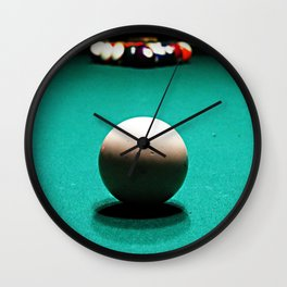 Racked and Ready Wall Clock