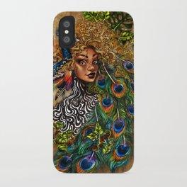 Jungle Queen iPhone Case